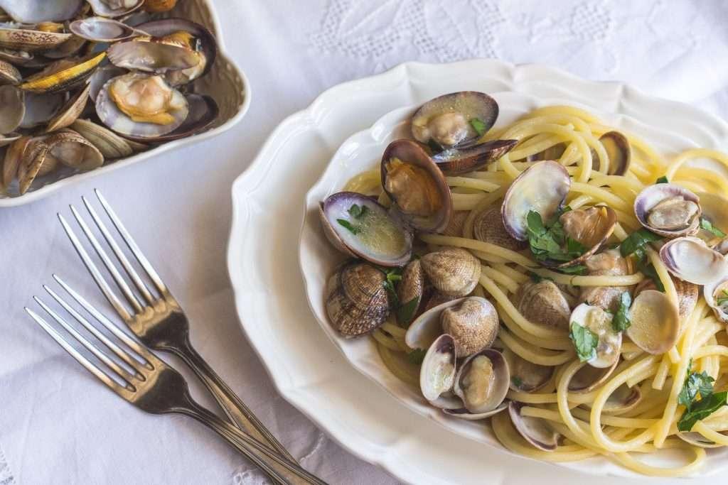 la ricetta degli spaghetti alle vongole