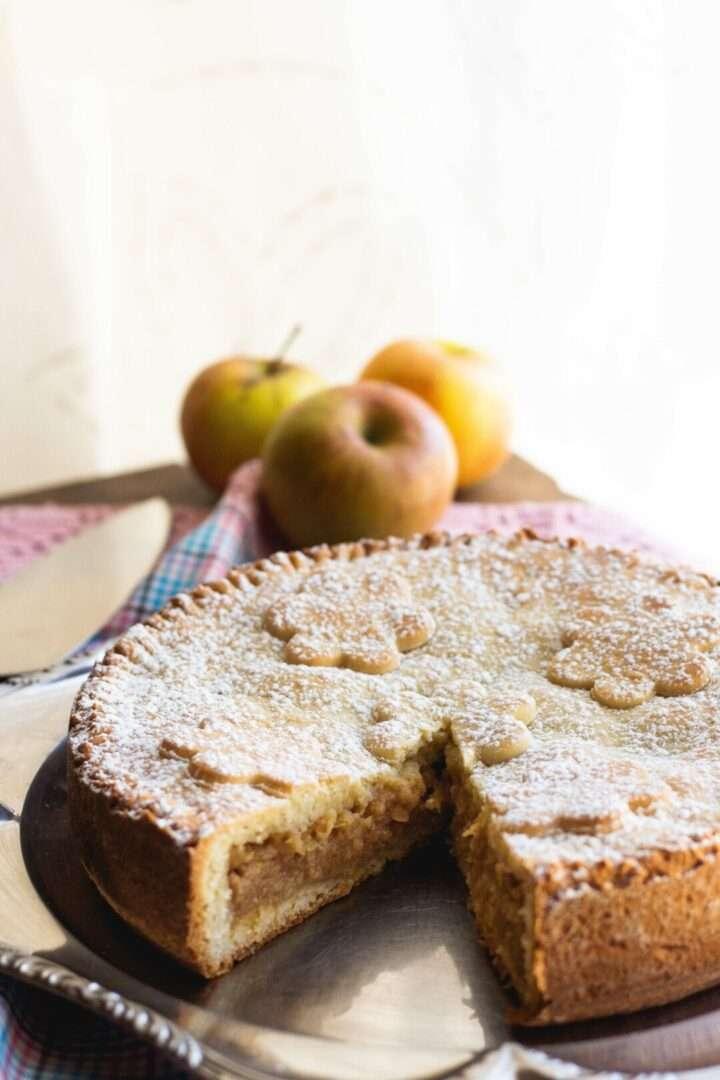 la ricetta della torta di mele slovena
