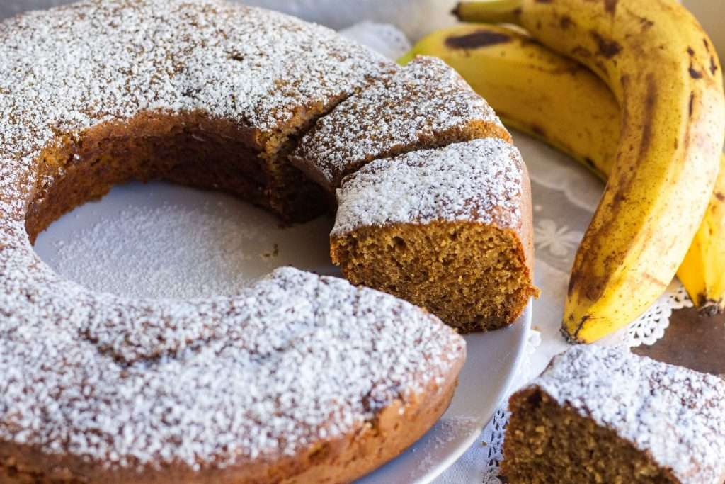 la ricetta del ciambellone alla banana